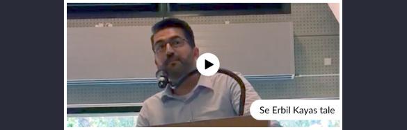 Hør Erbil Kayas tale på Nørre Gymnasium
