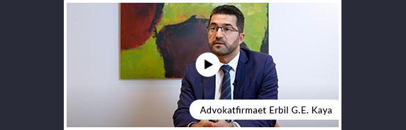 Se film om Advokatfirmaet Erbil G. E. Kaya